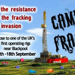 Camp Frack is coming - can they do it like the French did?
