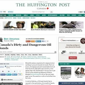 Canada's Dirty and Dangerous Tar Sands