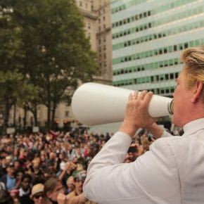 Violence and Gentleness - Reverend Billy on the Occupy Movement