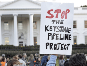 Something to celebrate - the Keystone Pipeline victory