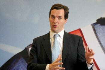Chancellor George Osborne. By altogetherfool under Creative Commons license.