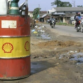 Shell oil spills reach new peak; Nigeria hit hard