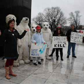 """Shell no"" to Arctic Drilling"
