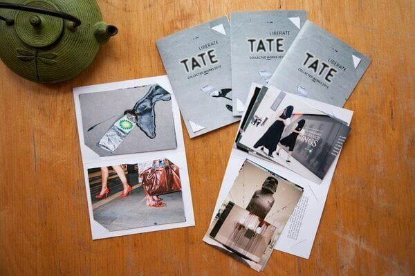 Liberate Tate Collected Works 2010 - Postcard Set