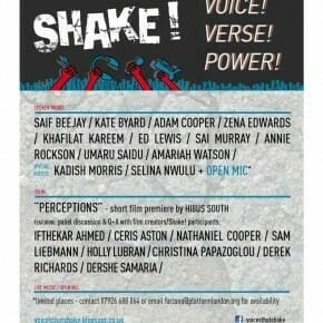 Shake! Showcase #2 Voice! Verse! & Power!