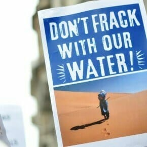 dont frack with our water