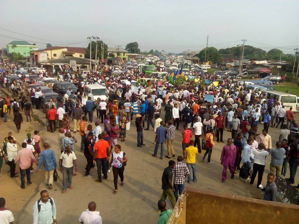 Ogoni protests escalate in Nigeria as Shell fails to implement UNEP report
