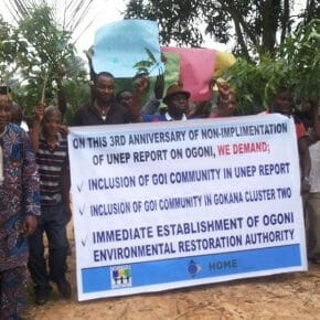 Communities in the Niger Delta demand justice