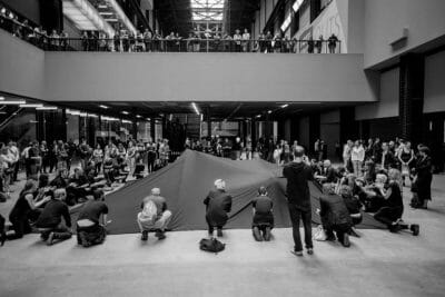 Liberate Tate's Hidden Figures performance at Tate Modern. Photo: Art Against Blacklisting