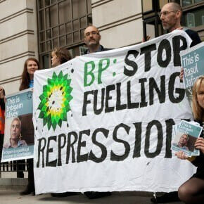 BP: stop fuelling repression in Azerbaijan