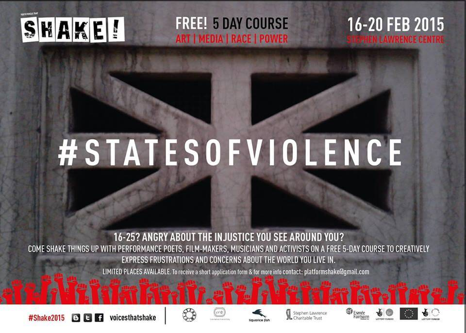 Shake! takes on #StatesOfViolence