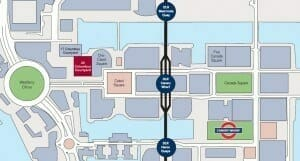 The 'ideal city' of Canary Wharf