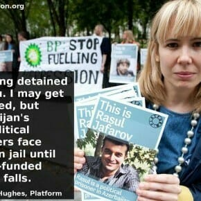 #FreeEmma and the Azerbaijan Prisoners