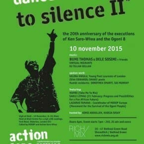 Vigil & Dance the Guns to Silence II, Nov 10th