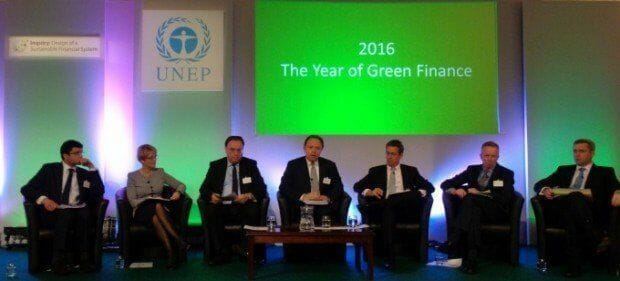 UNEP Sustainable Finance Inquiry panel