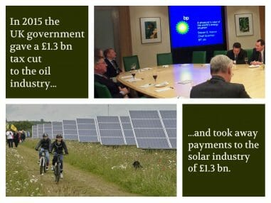 oil subsidies vs solar subsidies