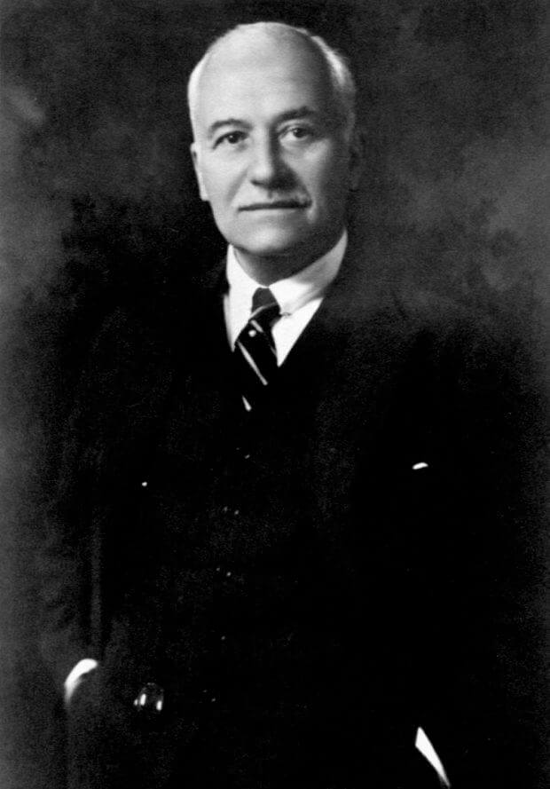 Henri Deterding, Chairman of Royal Dutch Shell who signed the oil concession for all of Nigeria in 1936