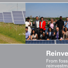 Reinvesting pensions: from fossil fuel divestment to reinvestment in the new economy