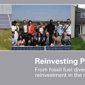 Invest council pension funds in our communities not fossil fuel corporations