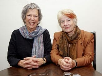 Esther Salamon and Lucy Fairley (Lucy on the right)