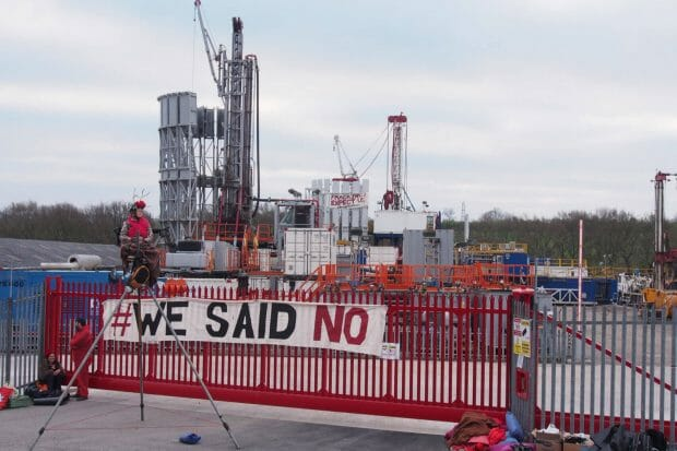 UK government spends aid money on promoting fracking